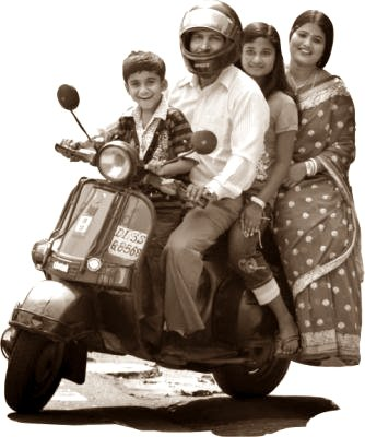 Bajaj Scooter Family