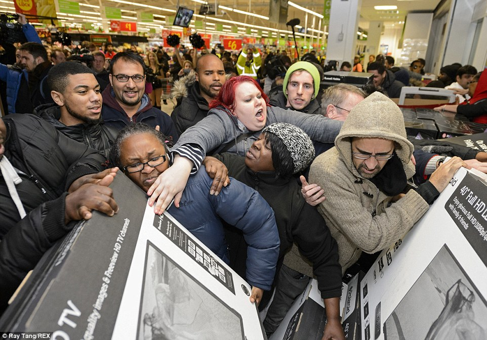 Fights at black friday deals